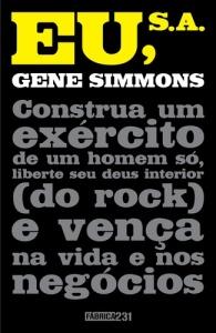 """Capa de """"Eu, S.A."""", o livro do empreendedor Gene Simmons"""