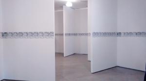 """""""Máquina Curatorial"""" (2009), do argentino Nicolás Guagnani no MAM. Foto: Jorge Almeida"""